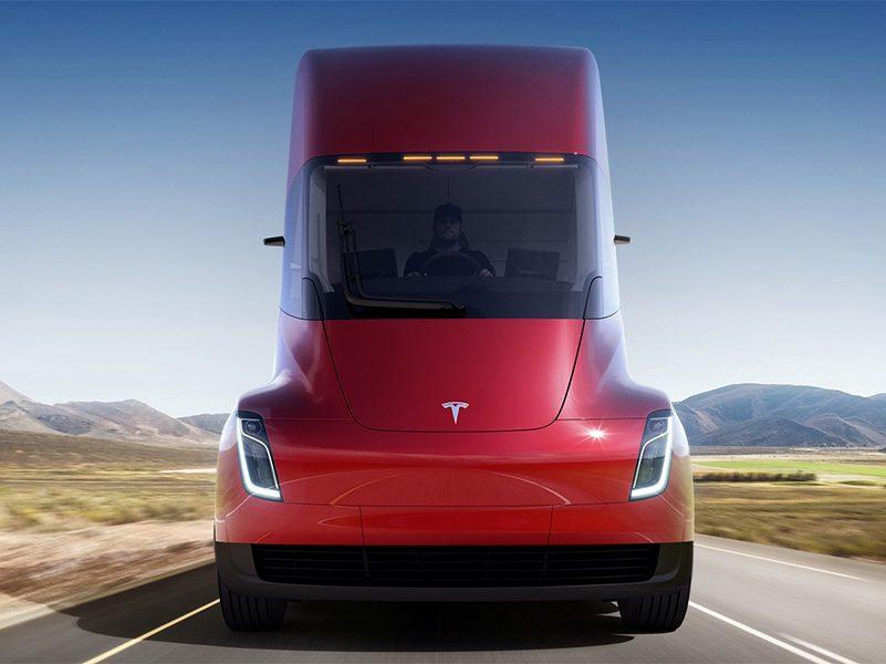 Tesla Semi, el trailer 100% eléctrico de Elon Musk
