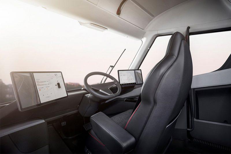 Tesla Semi, un trailer 100% eléctrico