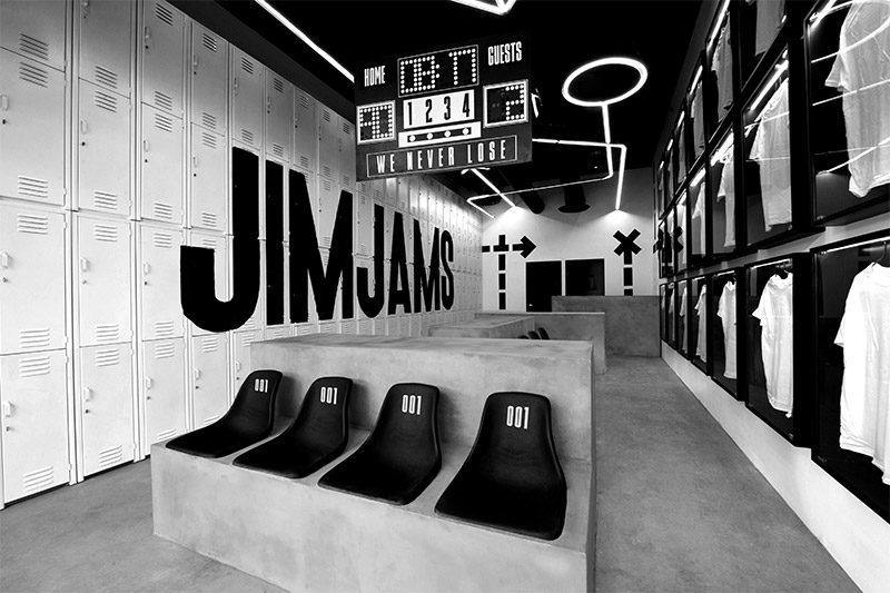 JimJams, la marca deportiva con branding e interiorismo de Anagrama