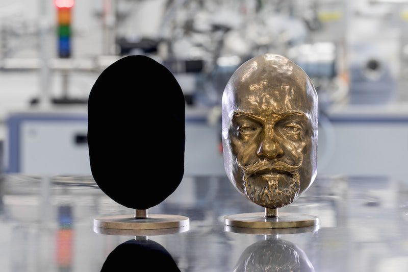 El material más oscuro del mundo sorprenderá en los Juegos Olímpicos 2018