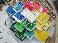 LEGO de BIG, Billund, Dinamarca. Fotografía: Kim Christensen