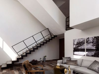 Cloud House, de ARQUIDROMO. Fotografía: Daniela Barocio.
