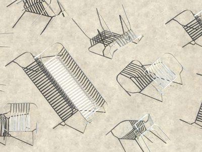 Concave, de Christian Heikoop. Un nuevo lenguaje para una silla de exterior