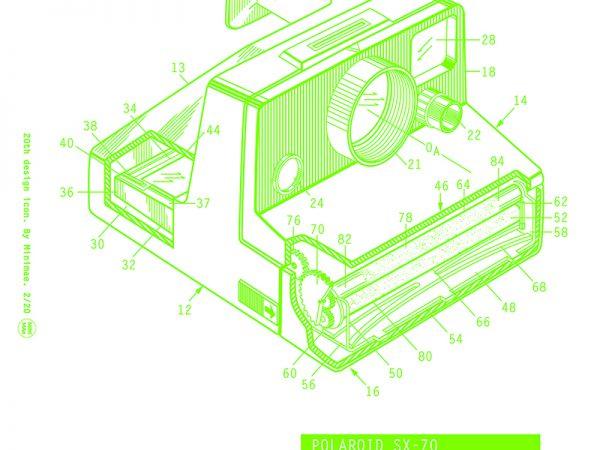 Minimae moderniza los iconos del diseño Industrial del siglo XX