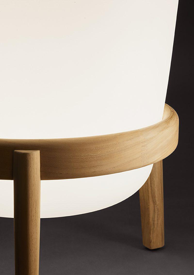 Loon, la lámpara exterior de Dedon diseñada por Sebastian Herkner