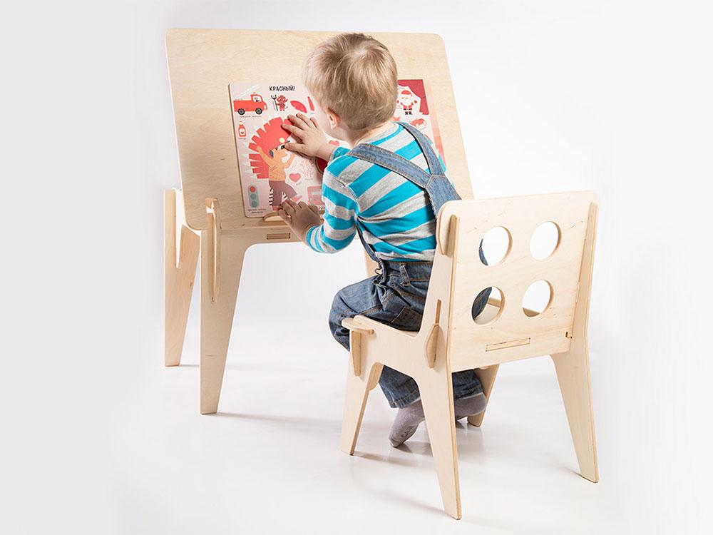Minima, el mobiliario infantil de Aleksey Koler