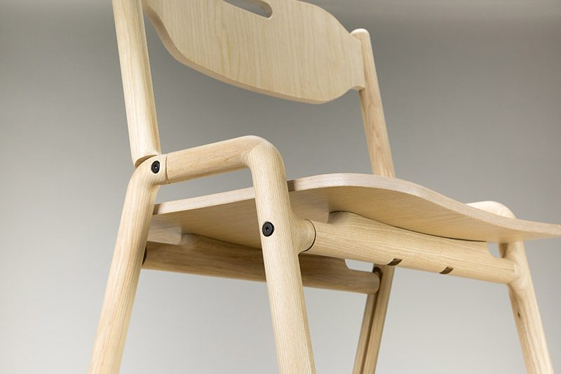 Native Folding Chair, la silla compacta de Joe Parker