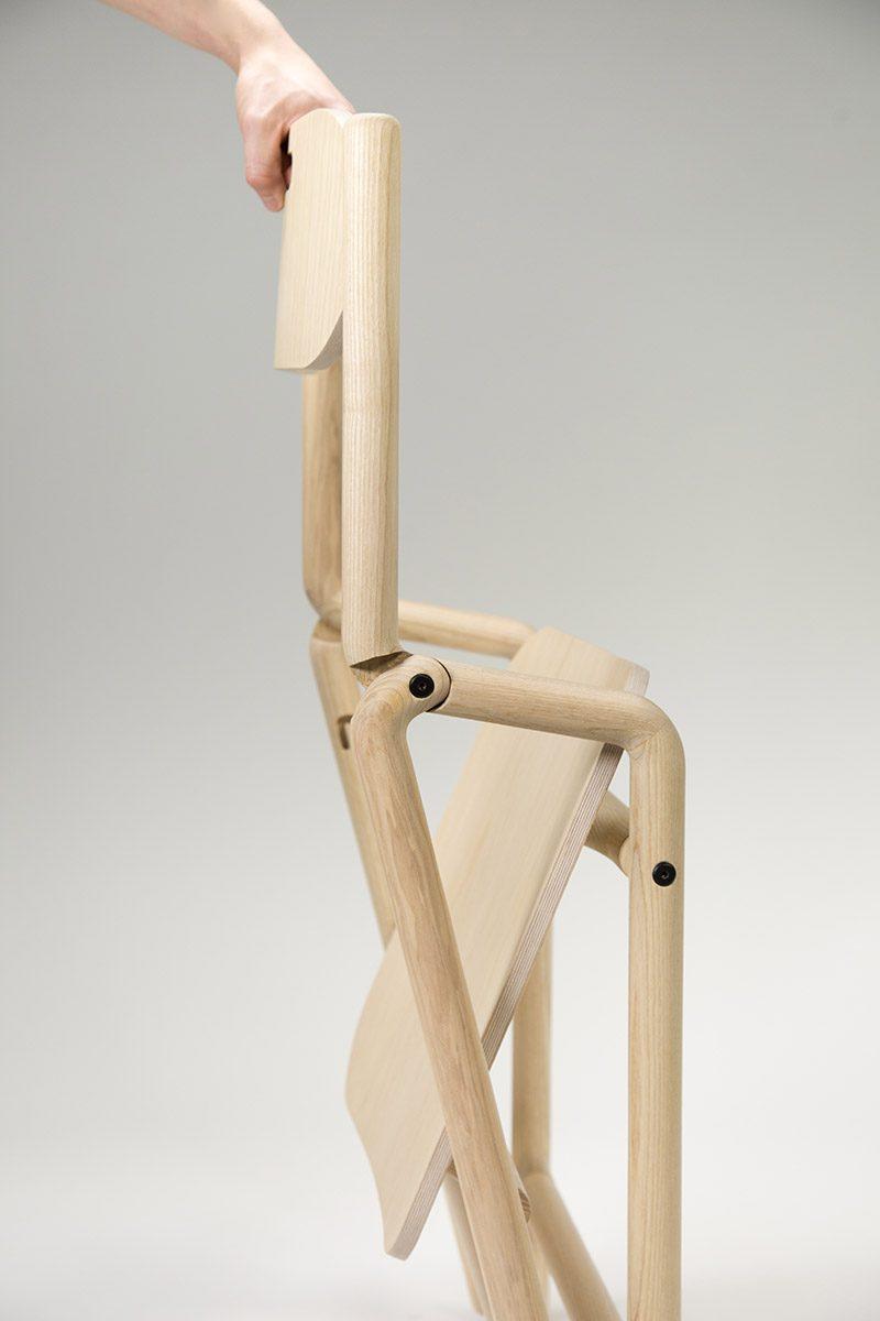 Native Folding Chair, la silla compacta de Joe Parker