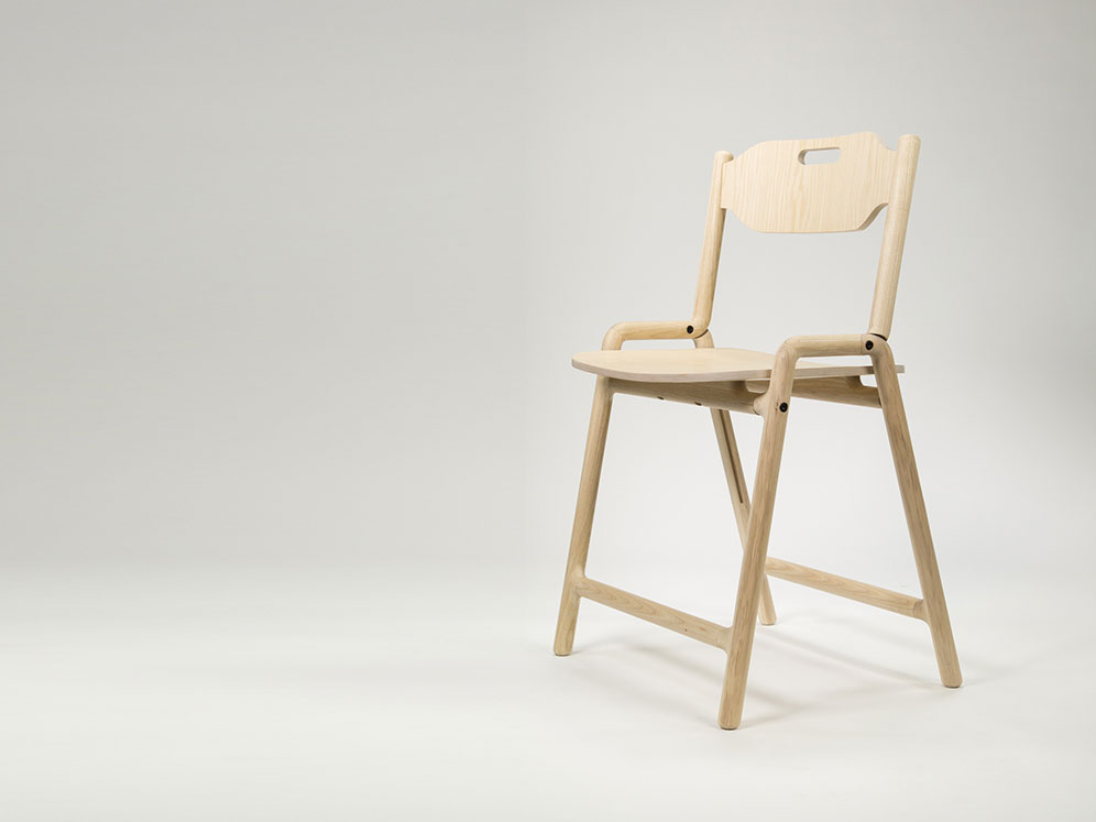 Native Folding Chair, la silla plegable de Joe Parker