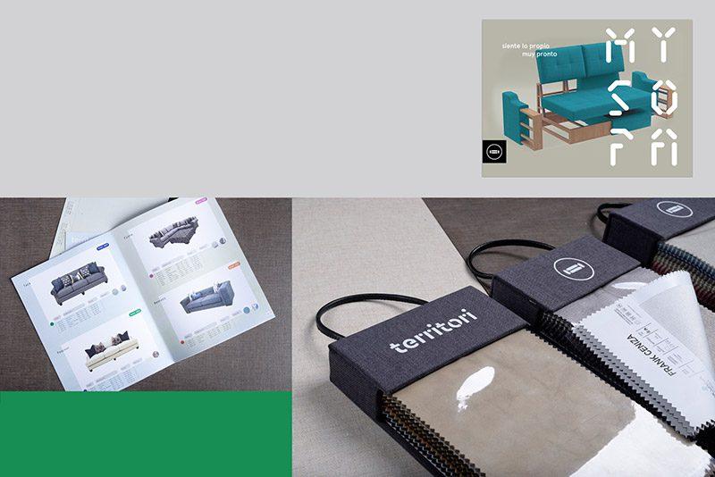 Territori, branding e interiorismo de Estudio Yeyé
