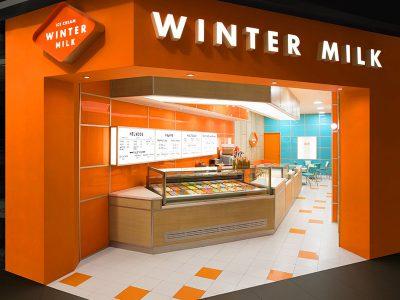 Anagrama diseña la identidad de marca de la heladería Winter Milk