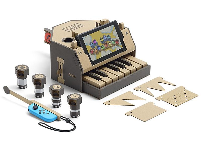 Nintendo Labo: juguetes interactivos que aúnan software y cartón