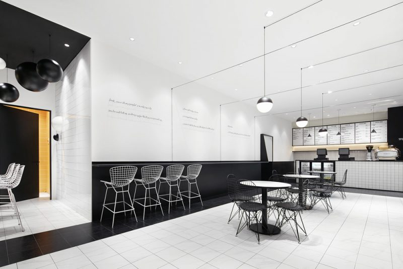 TFD Restaurant, de Leaping Creative. Gastronomía en blanco y negro. Fotografía: Zaohui Huang