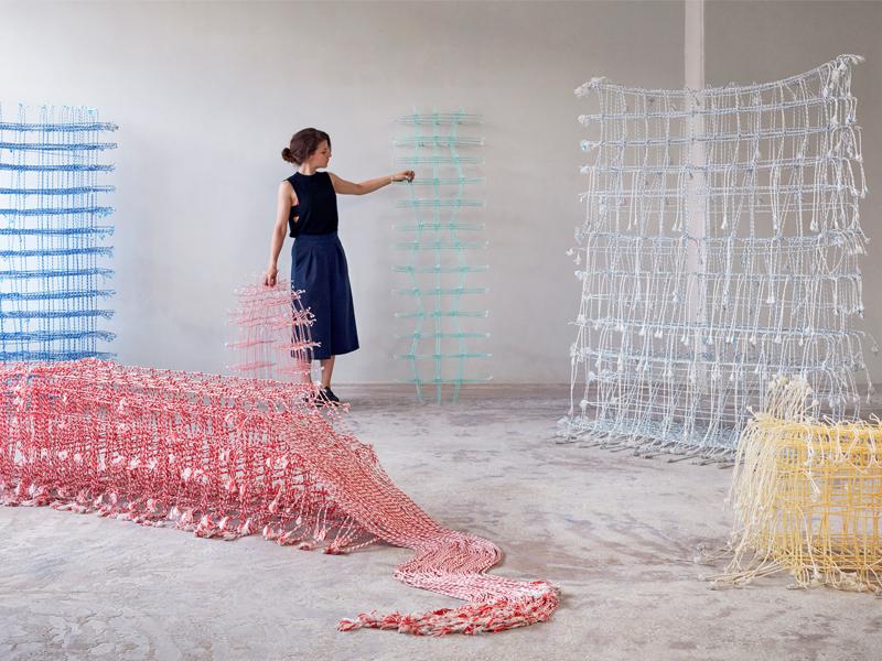 Standing Textile(s), los tejidos 3D de Fransje Gimbrère