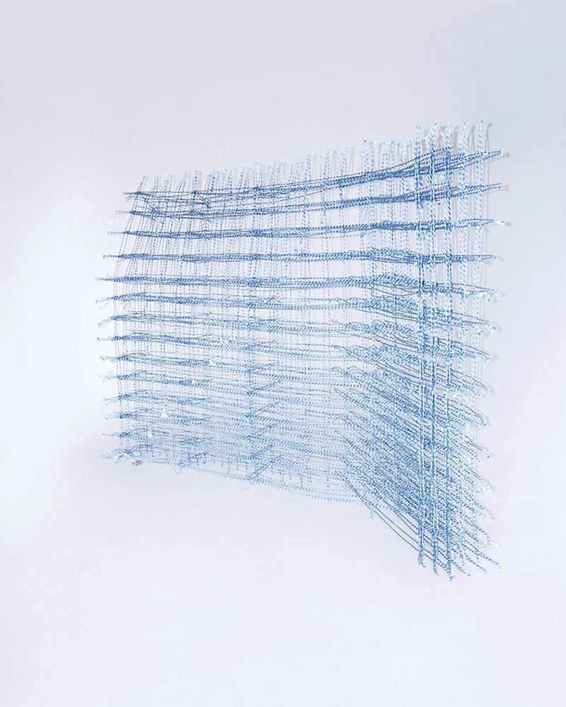 Standing Textile(s), tejidos 3-D diseñados por Fransje Gimbrère
