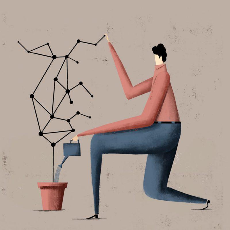La ilustración editorial de Pepe Serra