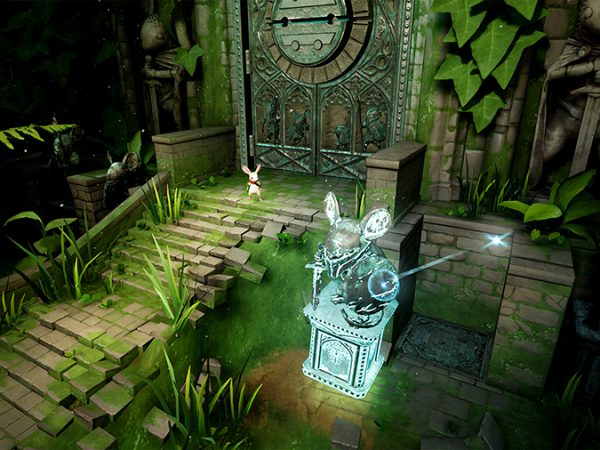 PlayStation lanza Moss, un videojuego que incluye lenguaje de señas