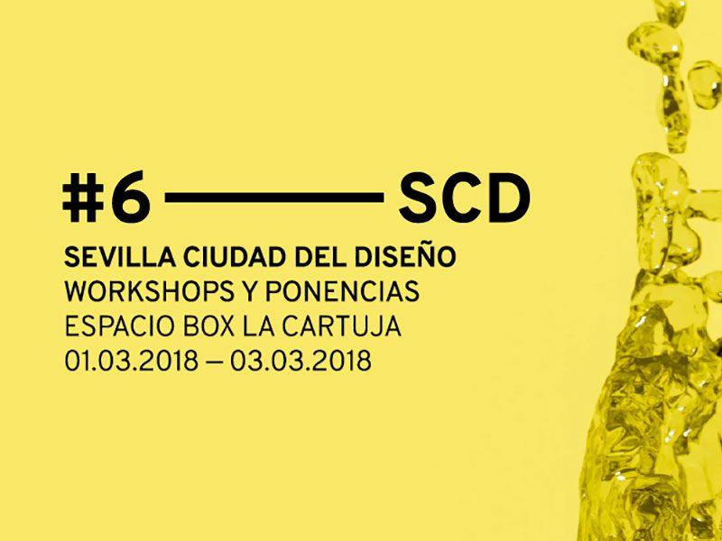 Del 1 al 3 de marzo llega la sexta edición de Sevilla Ciudad del Diseño.