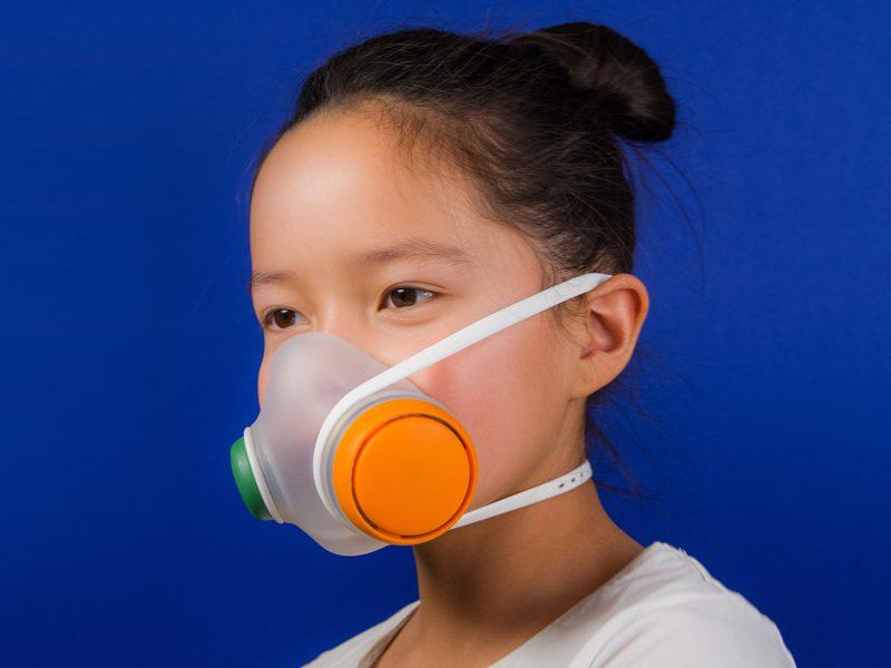 Woobi Play, la máscara infantil antipolución de Kilo Design
