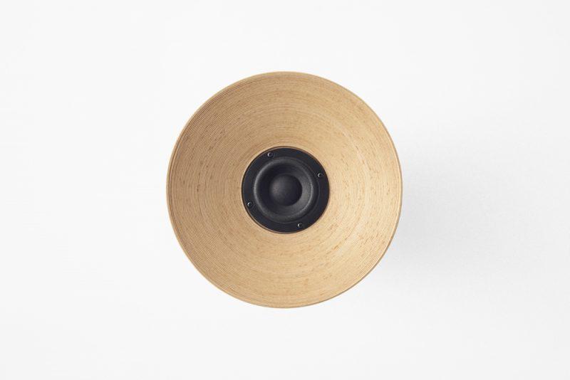 Bunaco-speaker, el altavoz inalámbrico de Nendo. Fotografía: Akihiro Yoshida