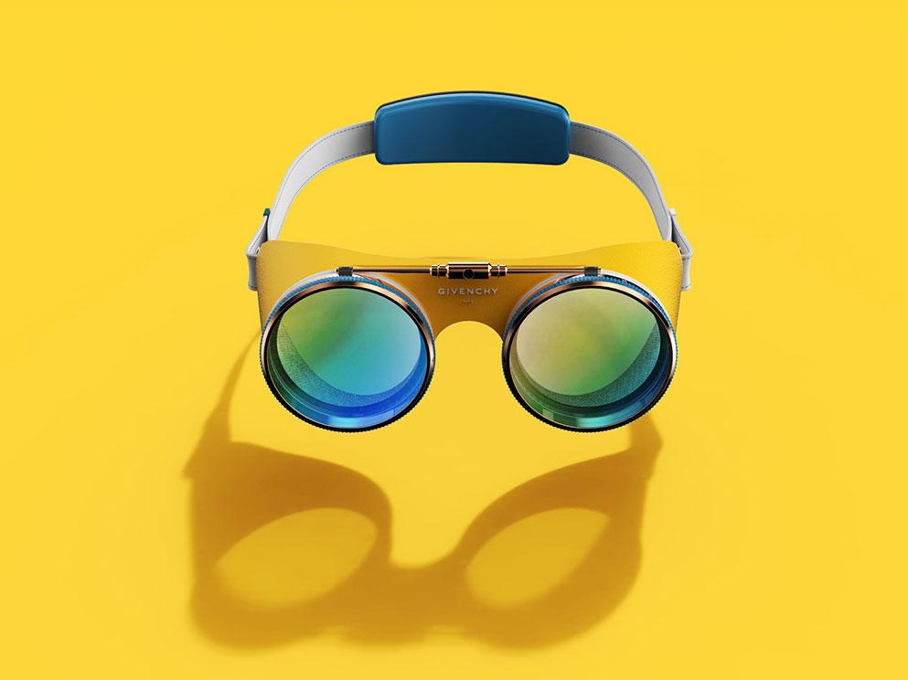 Las gafas con realidad virtual y realidad aumentada ideadas para Givenchy