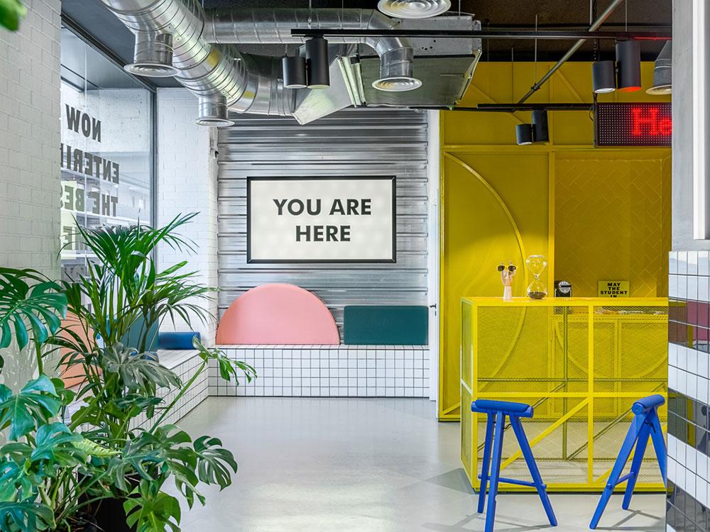 Masquespacio diseña el Marina Campus de The Student Hotel en Barcelona