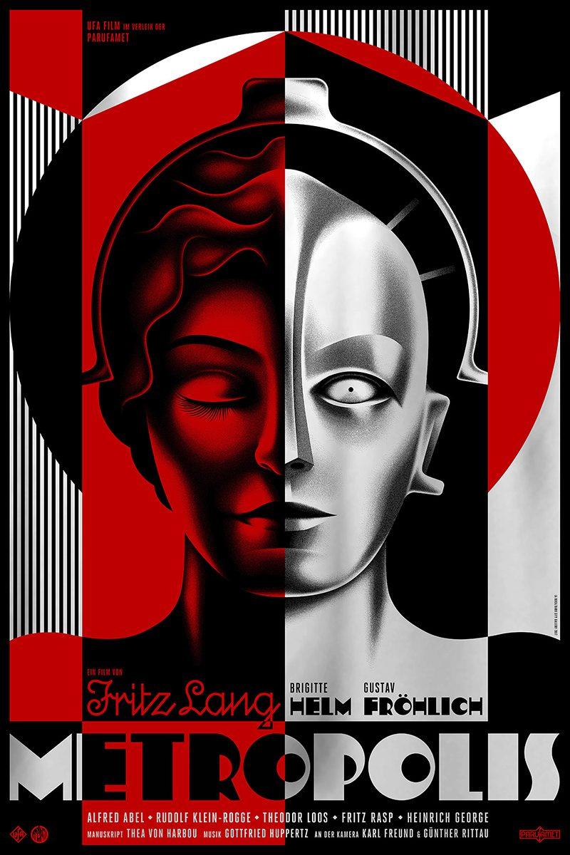La Boca rediseña el poster de la película Metrópolis