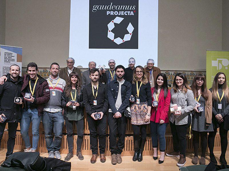 GaudeamusPROJECTA premió el trabajo de estudiantes de diseño gráfico