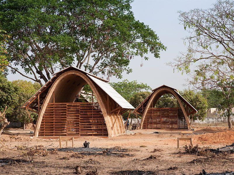 La Arquitectura solidaria de Foundawtion. Bóvedas catalanas en Senegal