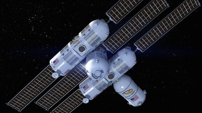 Aurora Station, un hotel de lujo espacial