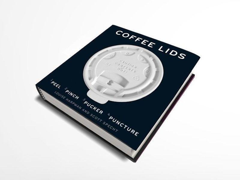 Coffee Lids: las tapas de café y su historia. Un libro «para llevar»