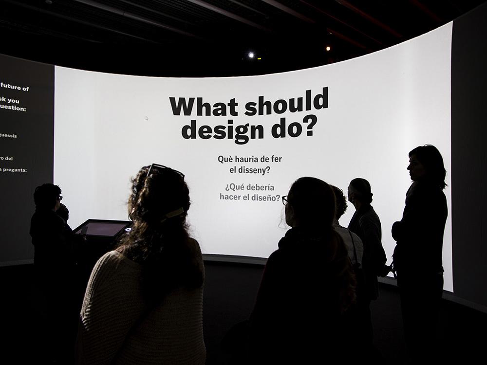 Design Does: la exposición viva de Elisava y el Museu del Disseny de Barcelona