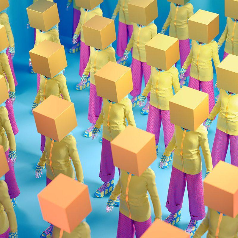 Surrealismo a todo color en las ilustraciones de Kota Yamaji