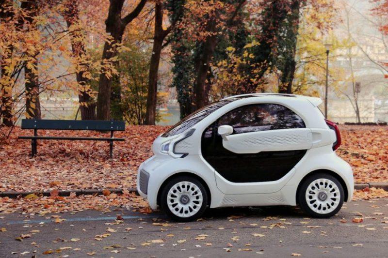 LSEV: El primer vehículo impreso en 3D