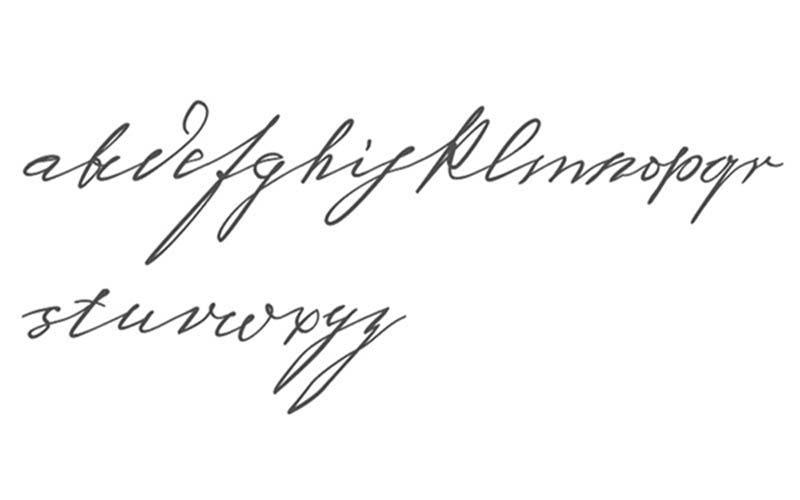 Tipografía vívida de Sigmund Freud, diseñada por Harald Geisler