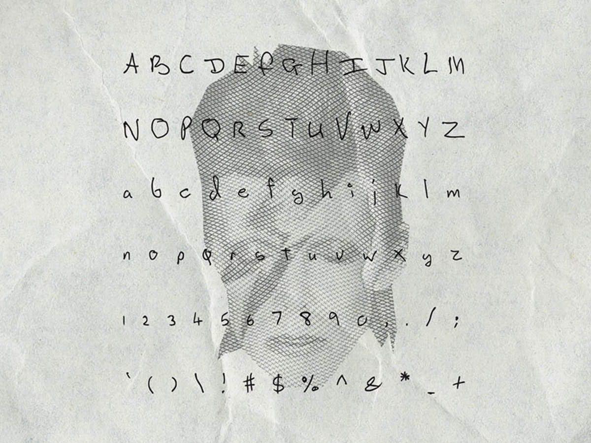 SongwritersFonts, tipografías inspiradas en Bowie, Lennon, Cobain…