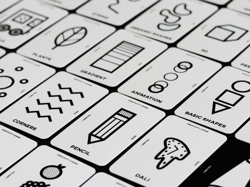 The Game of Creativity, de Zuelly Co. Un juego de cartas para estimular la creatividad