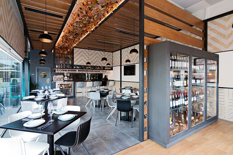 Nihil Estudio diseña Viterra, un restaurante entre lo natural y lo contemporáneo