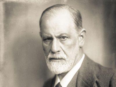 Vívida tipografía de Sigmund Freud, diseñada por Harald Geisler