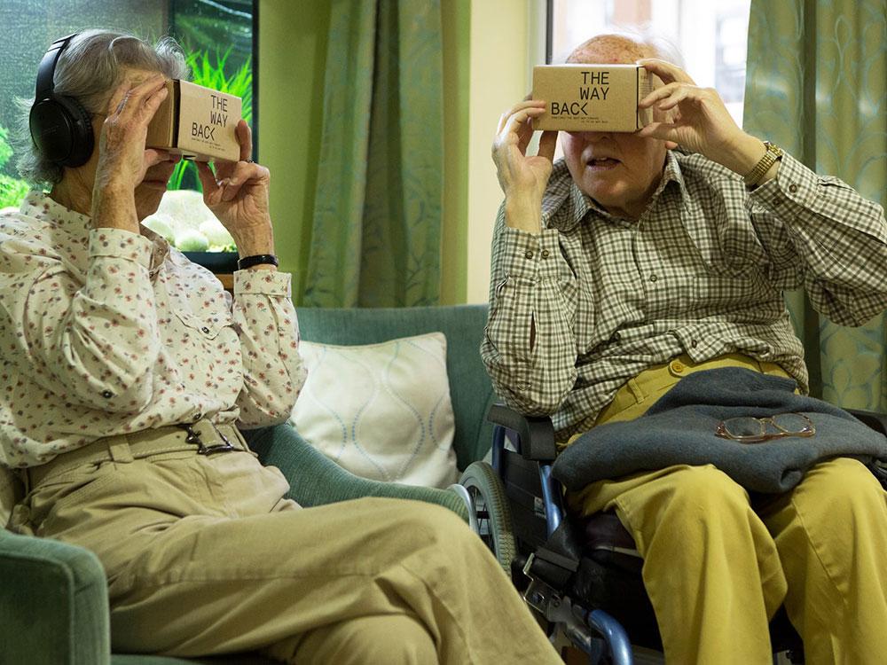 Wayback: Realidad Virtual para ayudar a personas con Alzheimer