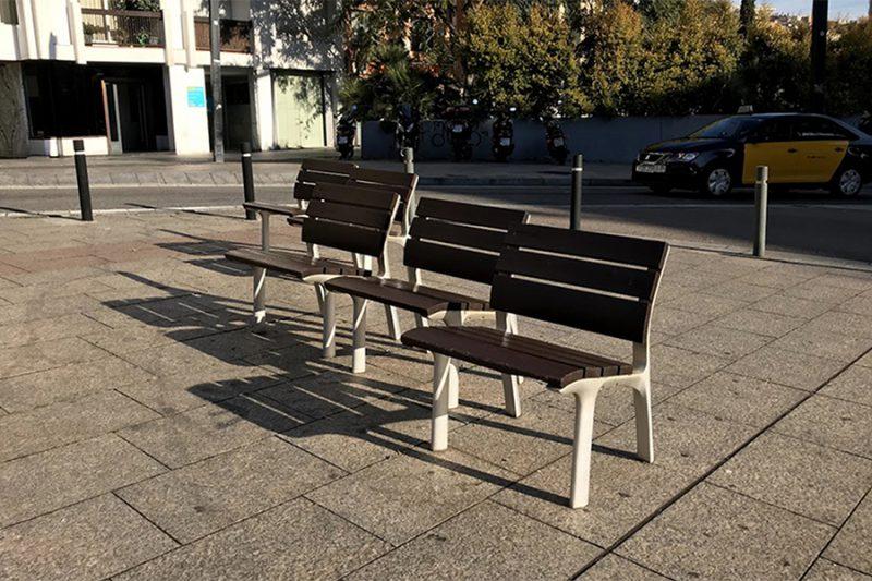 Diseño antisocial para la configuración del espacio público