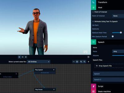 Amazon Sumerian, la nueva plataforma de RV, AR y 3D de AWS