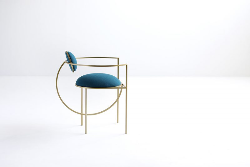 Lunar chair, de Bohinc Studio