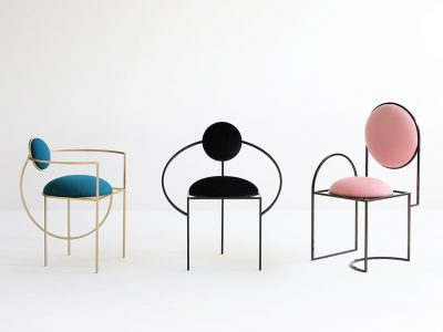 Lunar, Solar y Orbit chairs, de Bohinc Studio