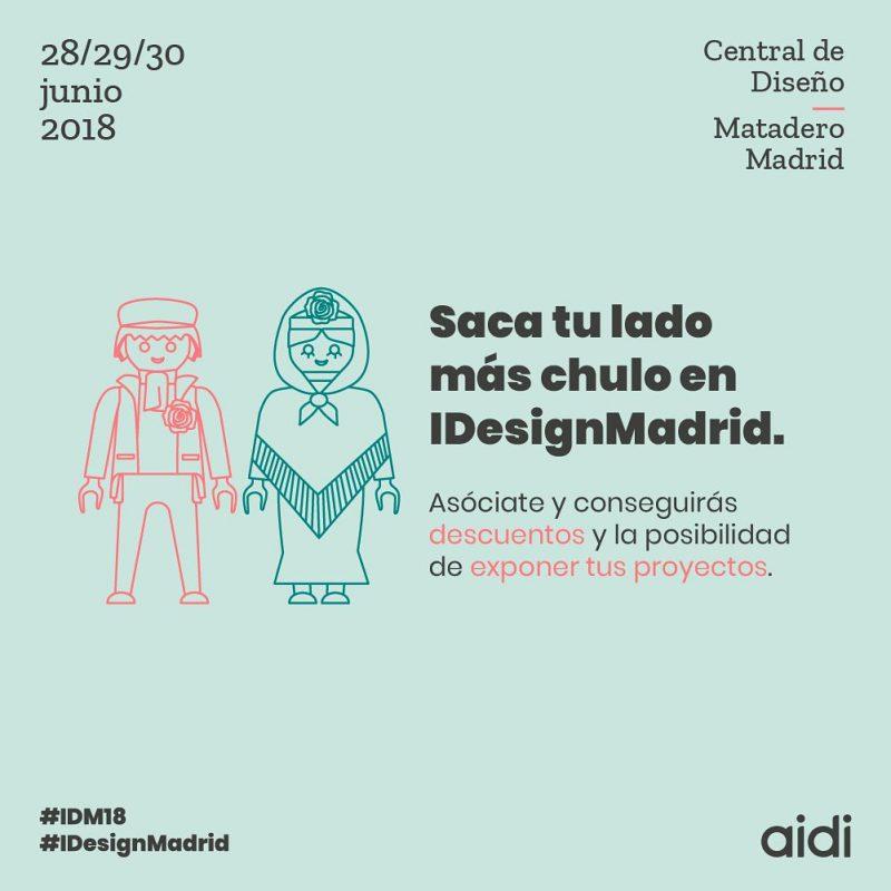 Matadero de Madrid abre de nuevo sus puertas a IDesignMadriddel 28 al 30 de junio para consolidarla como cita anual del Diseño Industrial en Madrid.