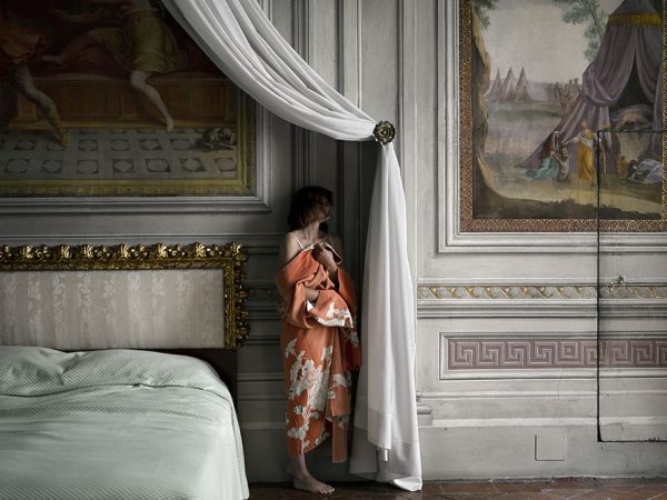The woman who never existed, serie fotográfica de Anja Niemi