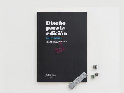 Diseño para la edición, el clásico de Jan V. White editado por Jardín de Monos