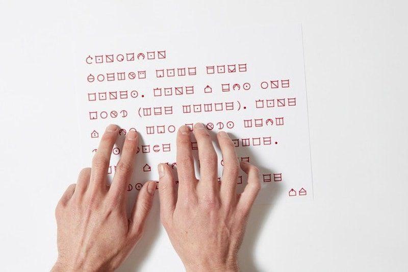 Braille para todos, una apuesta tipográfica y un desafío de inclusión
