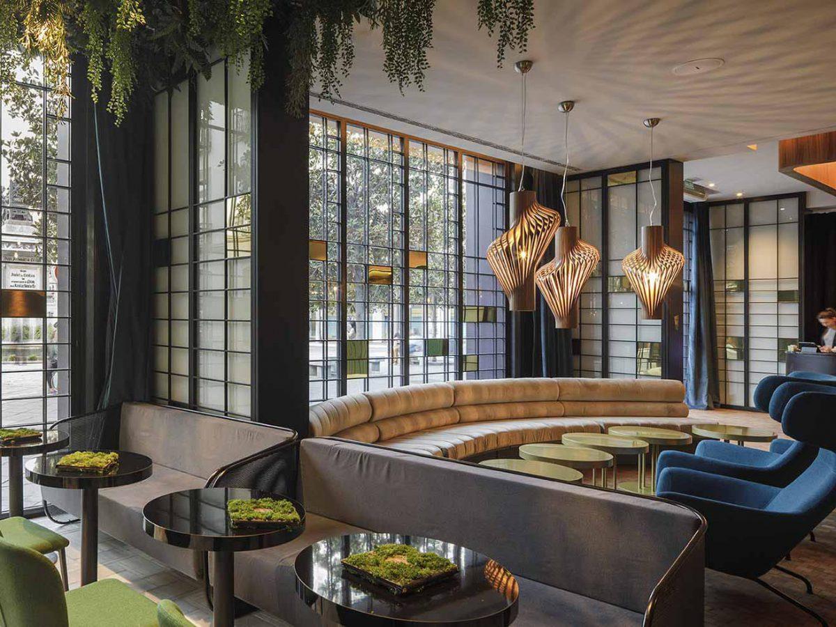 Hotel Marquis Issabel's,  de Ilmiodesign. Inspiración italiana en pleno centro de Granada