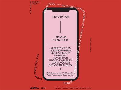 Perception: mobiliario, vídeo y audio en el marco de la BDW 2018